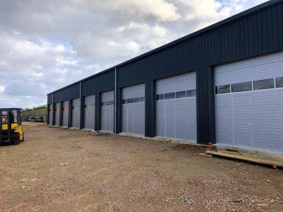 Stahlhalle in Hilden durch CONCEPT GmbH fertiggestellt